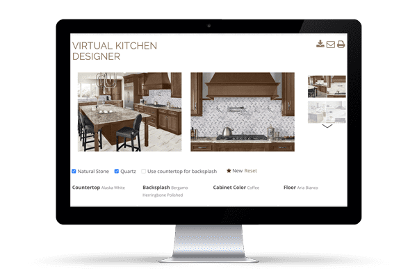 Kitchen Visualizer - We specialize in kitchen Countertops